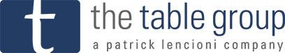 The Table Group - A Patrick Lencioni Company